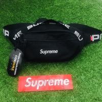 supreme waistbag waist bag fanny pack ss18 black bnwt