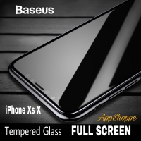 Baseus Tempered Glass Screen Protector FULL SCREEN COVER iPhone XS X