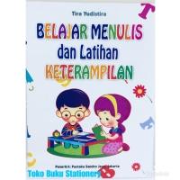 Buku Anak Belajar Menulis dan Latihan Keterampilan Untuk TK/SD Kelas 1