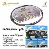 Raket Badminton Apacs New Z Zigler +Senar YONEX BG66 ORIGINAL+GRIP