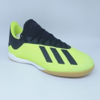 Sepatu futsal adidas original X Tango 18.3 stabilo hitam new 2018