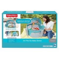 Fisher Price on the go baby dome ( rainforest)portable mainan & kasur