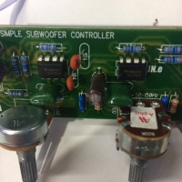 KIT SUBWOOFER FILTER LPF 50-150Hz MK1