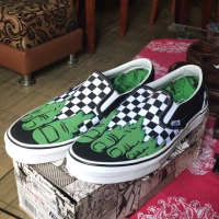 VANS X MARVEL HULK checkerboard ORIGINAL tried on