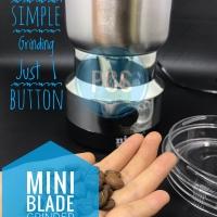 Mini Electric Coffee Grinder Mesin Giling Bubuk Kopi Simple - Blade Gr