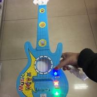 Mainan anak alat musik gitar melodi guitar music melody + tas