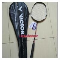 Raket badminton victor senar plus tas dan grip