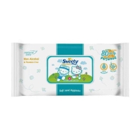 Sweety Baby Wipes Perfumed 80+4