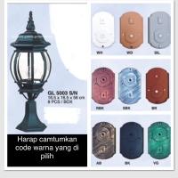 lampu hias pilar pagar rumah dekorasi outdor 5003S/N