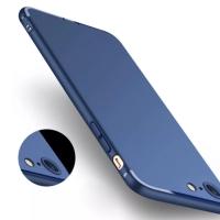 soft case casing navy blue for iphone 6/6s/6 plus/7/7 plus hitam biru
