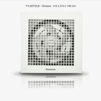 Exhaust Fan Plafon / Ceiling Panasonic FV-20TGU5 (8inch)