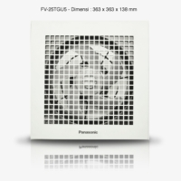 Exhaust Fan Plafon / Ceiling Panasonic FV-25TGU5 (10inch)
