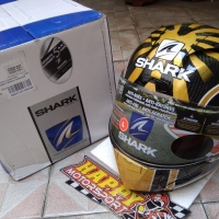 Helm Fullface Shark Race R Pro carbon original France Zarco 2017 sizeL