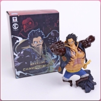 Action Figure One piece Luffy Gear Four Bounce Man