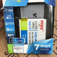 Baterai VIZZ Xiaomi Redmi 1S BM 41 Double Power