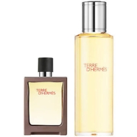 original parfum GIFT SET Hermes Terre D Hermes 125ml Edt - 2