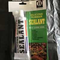 Lem kaca / sealant Silicone Clear