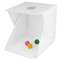 Foto Box Mini Size L/ Photo Studio Mini dengan Lampu LED