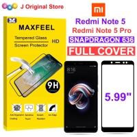 MAXFEEL Tempered Glass Xiaomi Redmi Note 5 Note 5 Pro Full Cover