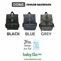 Baby Go Inc Dome Backpack / BabyGo Diaper Bag / Babygoinc Tas Bayi