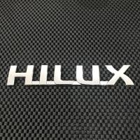 Emblem Chrome Toyota Hilux