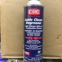 Crc cable clean degreaser