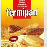 Fermipan ragi instant 1 box isi 4x11 gram sachet