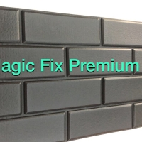 Wallpaper Dinding Foam Pannel Bricks Magic Fix 3d Premium
