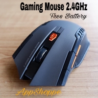 Mouse Wireless Gaming Mirip Fantech Mac Window 10 Vista