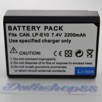 Batrai canon LP-E10 for eos 1100d , 1200d, 1300d