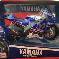 Maisto 1/10 Diecast Motorcycles Yamaha Factory Racing No. 99