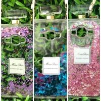 Case botol parfum gliter + tali Samsung J5
