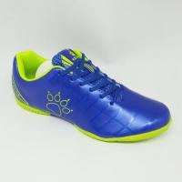 Sepatu futsal Kelme Junior Original Star 9 blue stabilo new 2018