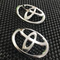 Emblem Chrome Logo Toyota Stir Toyota