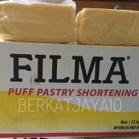 Korsvet FILMA PUFF Pastry Shortening Mentega Repack 500 Gram Margarine