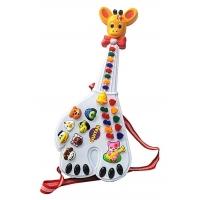 Mainan alat musik gitar anak belajar suara hewan guitar music jerapah
