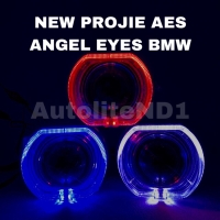 PROJECTOR PROJIE HID AES ANGEL EYES BMW ORI (pcs)