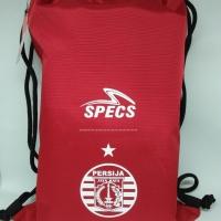 Tas serut specs original string bag Persija 2018 red new