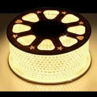 Led strip 5050 warm white meteran / lampu plafon / lampu ceiling led