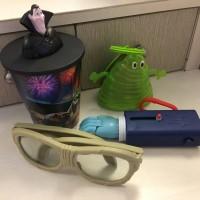 Mainan happy meal hotel transylvania 3 lengkap