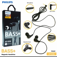 Headset Philips Bass+ AT-036 Good Quality