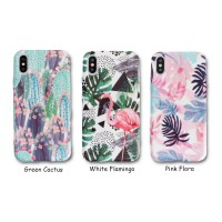 Forest Case - softcase Glow in the dark - iPhone & OPPO - full print