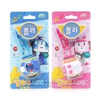 robocar poli AMBER watch - jam tangan anak karakter AMBER impor Korea