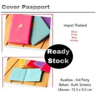 Oehun Korean Passport cover airplane / Cover Sampul Paspport