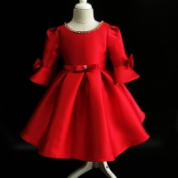 Dress Red Frock