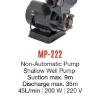 UCHIDA MP 222 pompa air listrik manual