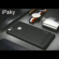 Slim Fit Carbon Vivo Y69 5.5 inchi Soft Case Fiber Carbon ANTI MELAR