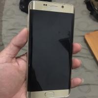 Samsung S6 Edge Plus 64Gb Gold mulus Ori minus tompel cuil mesin norma