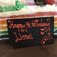 Papan Coklat utk Ucapan di Cake