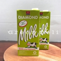 Diamond Susu UHT Low Fat 1 LITER